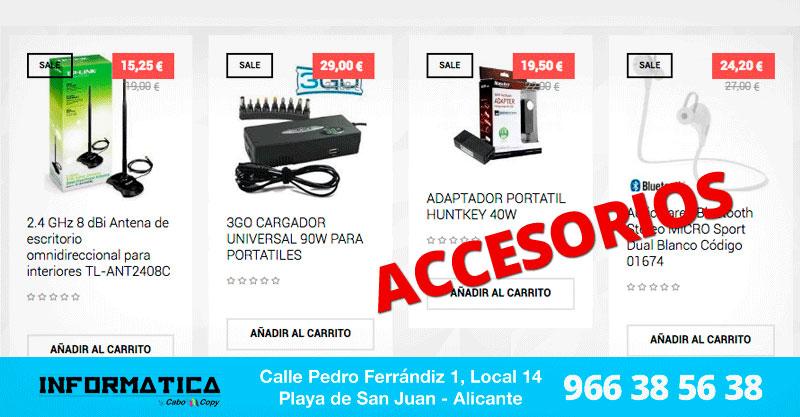 Accesorios Informáticos Alicante