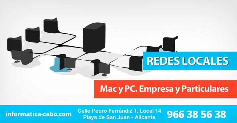 Instalación redes locales mac y pc en Alicante