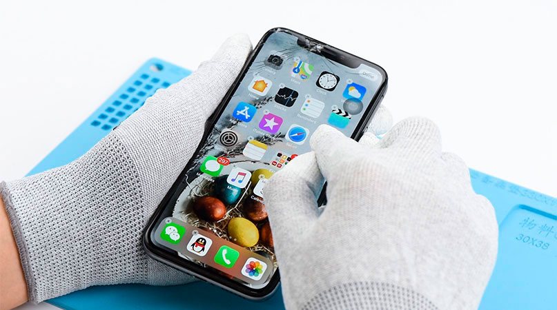 Reparación de pantalla rota de iphone en Alicante